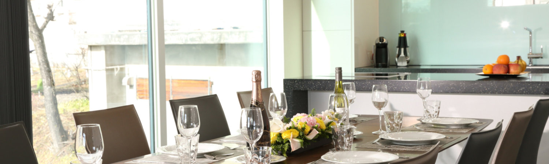 Bluebird Apartments Dining Room