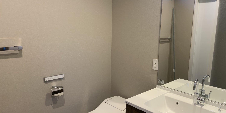 Gravity bathroom