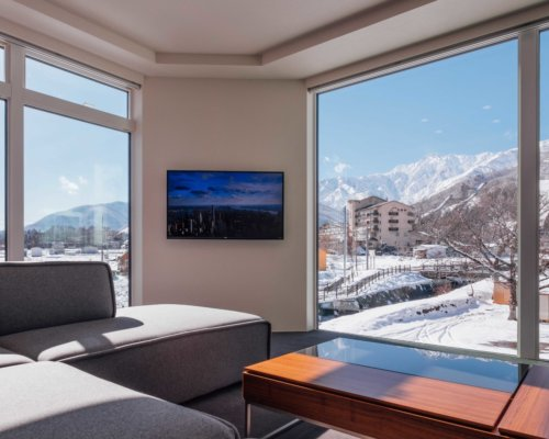 Bluebird Apartments View