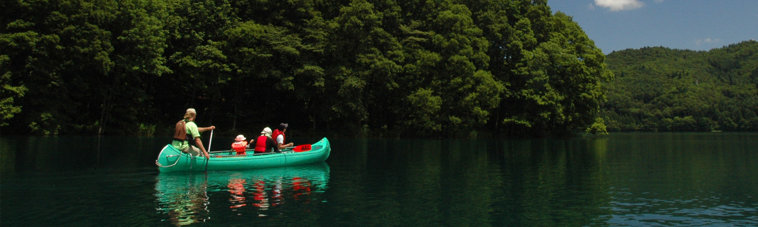 Canoeing in Hakuba