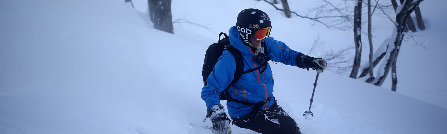 Skiing at Happo One